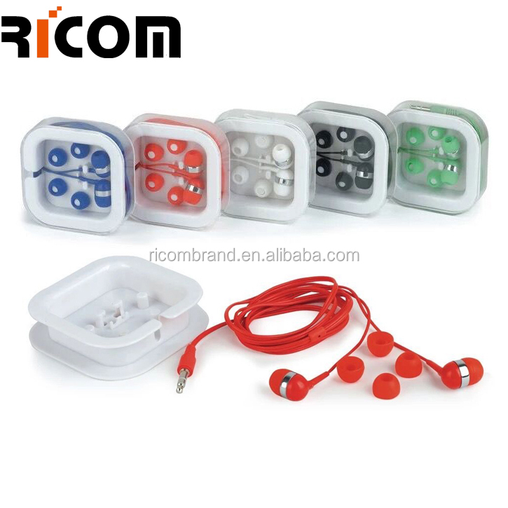 earphone cap plug for iphone cell phone accessory EO3005 Mini Earphone In-Ear Earbuds