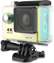 Ultra HD 4K 12mp wifi remote sports action camera 30m waterproof