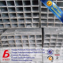 competitive price SCH40 metal galvanized square hollow section