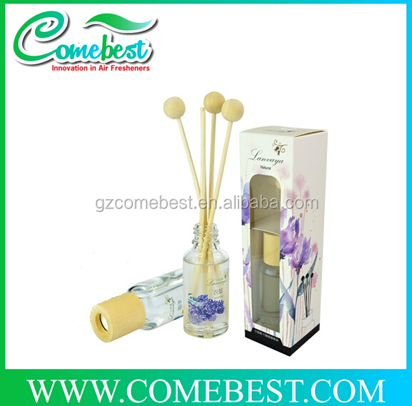 Long lasting decorative pure oil lavender fragrance reed diffuser