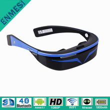 Home Theater Projectors 1080P 3D Video Glasses Full HD with 8G Memory