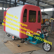 Good quality street food vending cart/motorcycle food cart