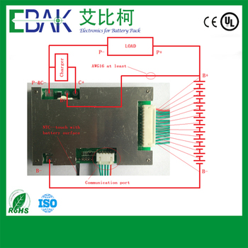 12S 15A PCM board for LiFePO4 base battery packs.