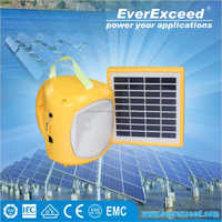 EverExceed solar panel system home 10w Small Solar Lamps for home and outside