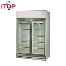 vertical coke commercial mini bar refrigerator