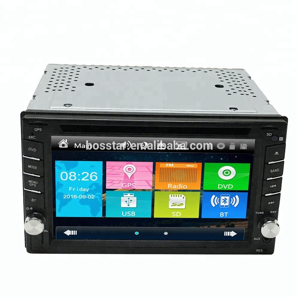 Double Din Car Radio Stereo for Universal car audio dvd player