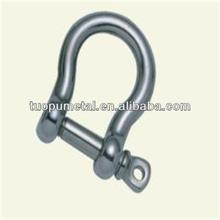 JIS type bow clevis shackle,hardware with stainless steel