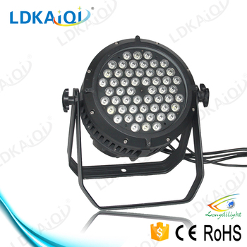 alibaba led light,Outdoor waterproof led par 54x3 watts rgbw dmx par light