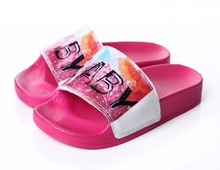 Cute baby product shoe pu safty girl sandals wholesale