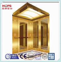The Best CE Approval Hotel Lift, The Most Competitive Price Luxury Commercial Elevator