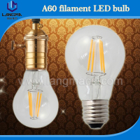 UL&CUL CE Approval 120V 230V Dimmable LED Filament Bulbs 4W 6W 8W LED Bulb 360 degree Edison Bulb high cri 90ra E27 led filament