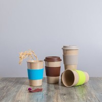 2016 Eco Cup Silicone Lid Sleeve Coffee Mug