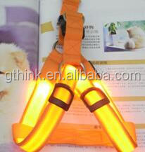 led dog harness body belt for puppy