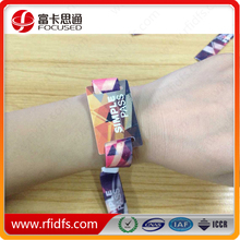 ISO14443A Fabric access control rfid wristband