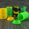 silicone jar dab wax container 26ml oil barrel silicone dab container 42color nonstick silicone jar dabs wax for ecig vaporizer