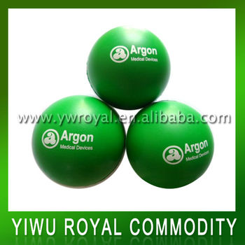 Promotional soft stress balls with logo,Round stress ball,Various colors available