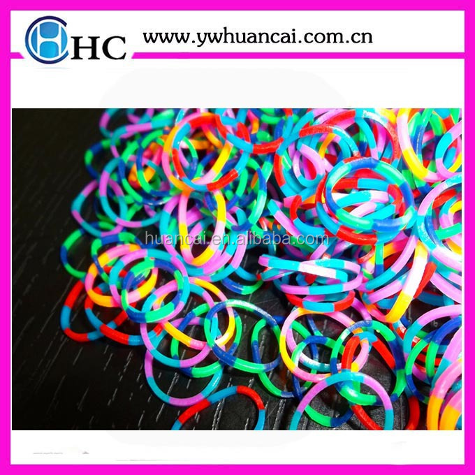 High quality /hot selling fun loom rubber refill bands,loom kit with charms