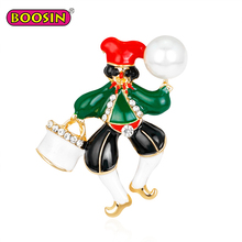2018 Fashion Funny Clown Design Enamel Brooches Pins
