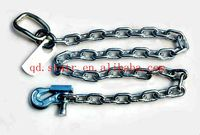 Electric galvanized welded link chain DIN 766 LINK CHAIN FACTORY