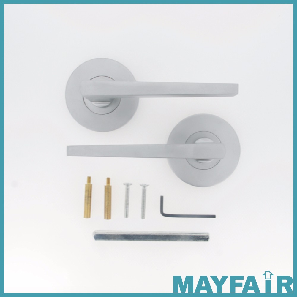 Chrome plated Zinc Exterior front door accessories