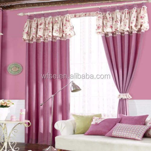 Luxury Optimal Thermal Insulated Printed Polyester Blackout Curtain Drapes/doublewide Designs