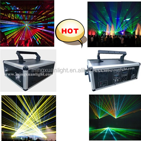 10W Full color RGB animation disco laser light