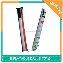 National Flag Fans Cheering PVC Inflatable Stick Toys