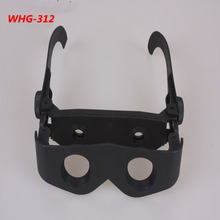WHG-312 hands free binoculars folding zoomies plastic adjustable fashion magnifying glasses toy binoculars like a sunglass