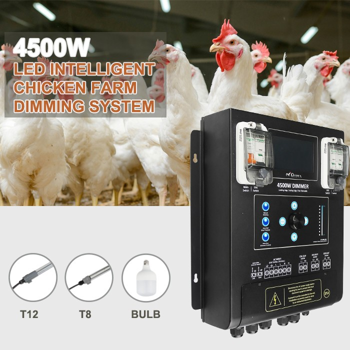 4500w chicken house building equipment outdoor LED dimmer switch