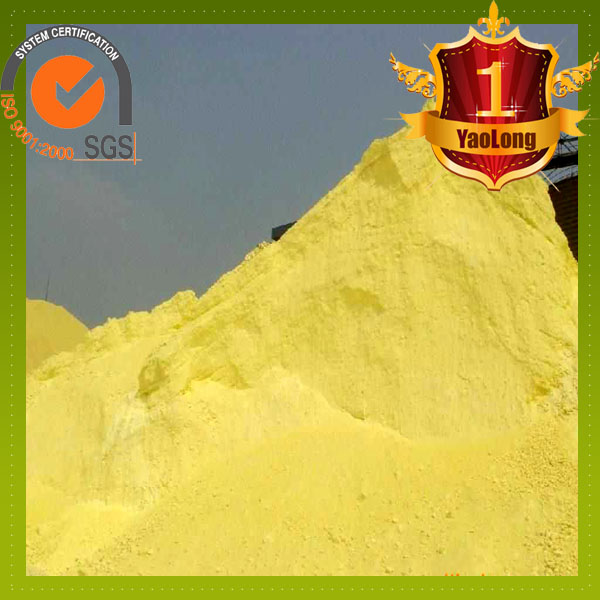 China supplier russian sulphur granular in China