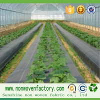 Agriculture pp spunbond nonwoven weed control, weed blocker