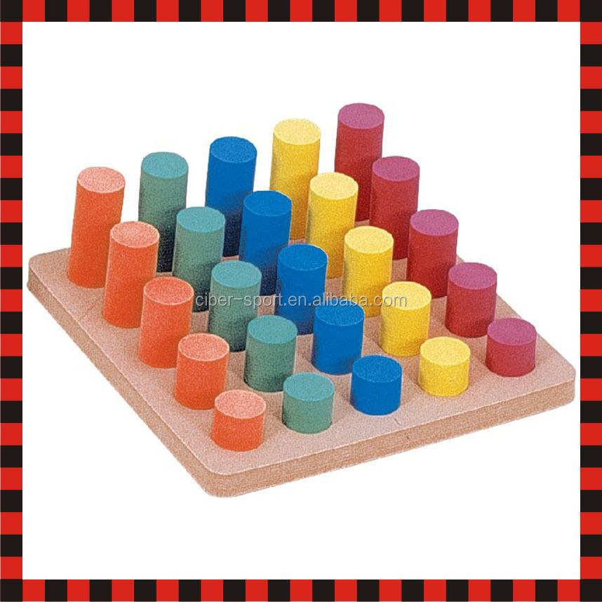 Cylinder sorting children for kid toy educational building block