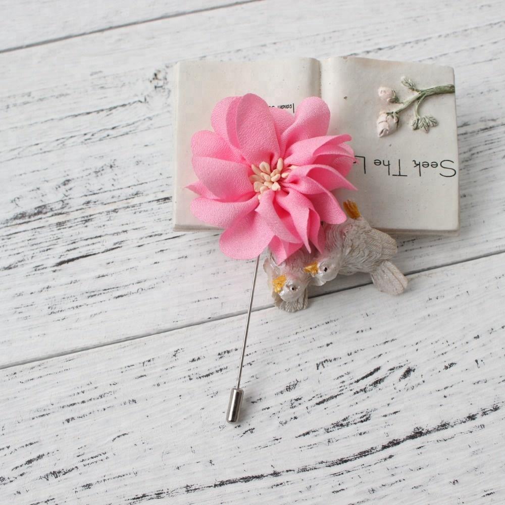 Wholesale dress flower pin - Online Buy Best dress flower pin from ...