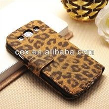 Classic Leopard Skin For Samsung S3 Leather Case