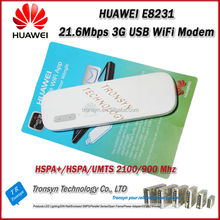 Original Unlock HSPA+ 21.6Mbps HUAWEI E8231 3G USB WiFi Dongle Support 10 WiFi USER And Support 900/2100MHz