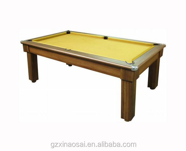 2 in 1 Dining table with modern cheap pool tables set