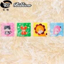 Cute Cartoon Animal Key Holder Family Robe Hanging Hooks Bag Key Adhesive Wall Hanger Bathroom Kitchen Accessories