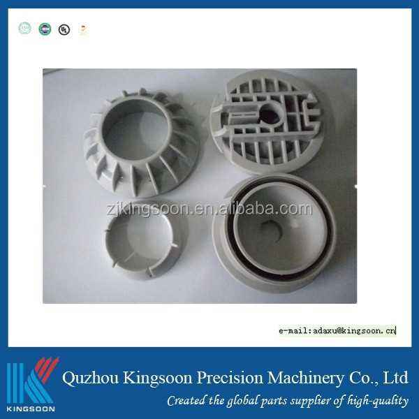 Customized pvc tpe pbt plastic b injection b mold parts precision machined components plastic Part