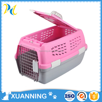 wholesale modern pink china flight cage china pet cages pet flight case