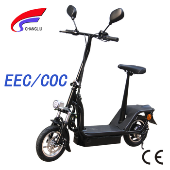 2013 New Style China 2 Wheel Adult Electric Scooter with EEC