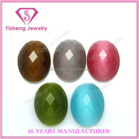 wholesale fake cat's eye glass gemstone indonesia names for jewels