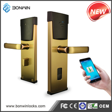 Sensor Door Lock Timber Door Lock and Handle Popular in China Market