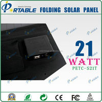 Fashionable elegance 21w foldable monocrystalline solar panel solar cell price