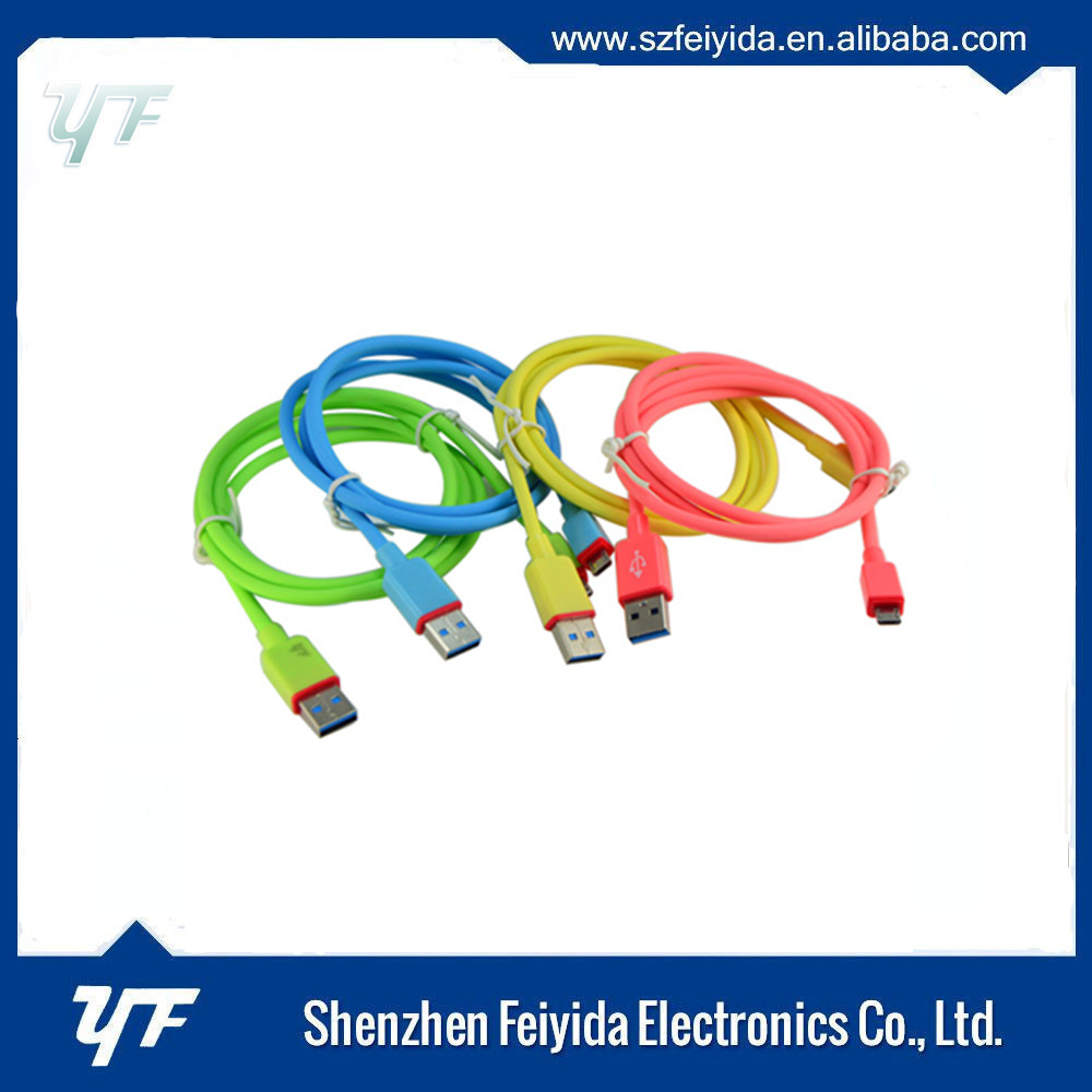 Shenzhen mfi manufacturer micro usb 3.0 am to micro bm cable