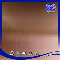 Wholesale Factory Wire Drawing Sheet/Stainless Steel Sheet 304/Hairline Finished Steel Sheet Price