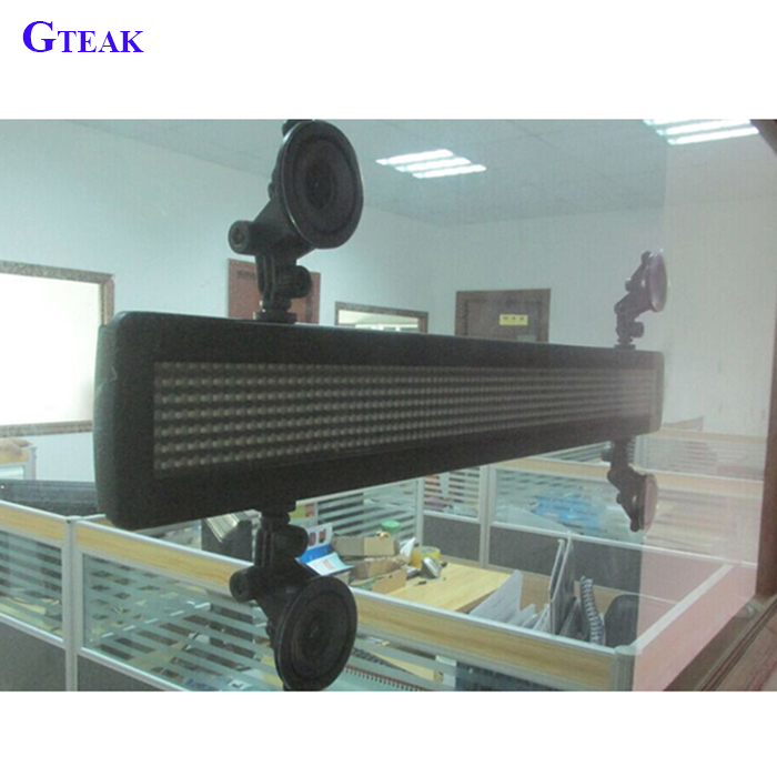 remote control rear window advertisement for car led screen