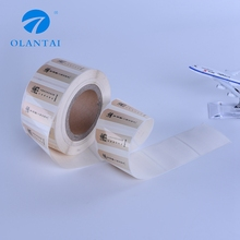 Custom high quality printing adhesive packaging label