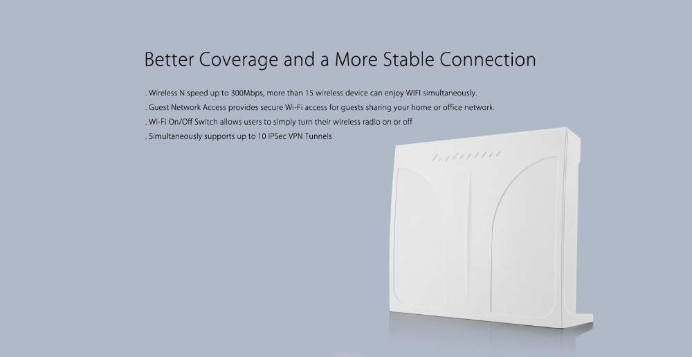 Professional Wireless N 300Mbps smart wireless router For wholesale