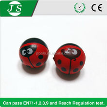 Super quality new style insect beetle 60mm rubber bounce ball