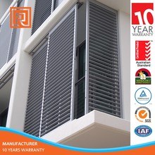 AU/NZ standard High End Aluminum Shutter For Balcony
